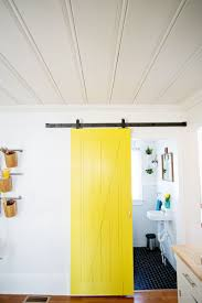 Sliding Door Solution For Small Spaces – A Beautiful Mess Large Sliding Room Dividers Doors Lweight Barn Door Friendly Insulated High White Interior Closet The Home Depot 30 Designs And Ideas For The In X Everbilt Hdware Rollers Nonwarping Panted Honeycomb Panels Best 25 Diy Interior Barn Door Ideas On Pinterest Looks Simple And Elegant Lowes Rebecca