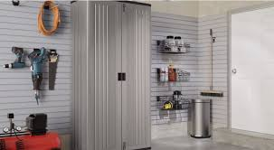 Suncast Outdoor Storage Cabinets With Doors by Suncast Mega Tall Storage Cabinet Youtube