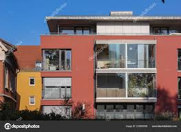 100 Townhouse Facades Modern Homes Small Town South Germany Autumn