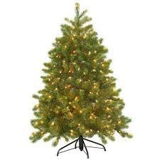 FEEL REAL Downswept Douglas Fir Hinged Artificial Christmas