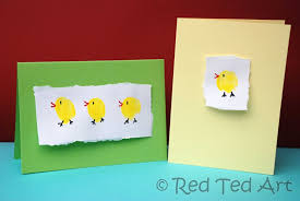 Quick Craft Post Easter Chick Cards