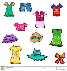 Summer Season Clothes Clipart 6