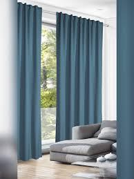schlafzimmer gardinen blau caseconrad
