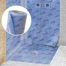 abdichtungsbahn dichtungsband entkopplungsmatte 1m 200cm blau dichtbahn abdichtbahn dichtfolie duschelement abdichtband entkopplungsbahn