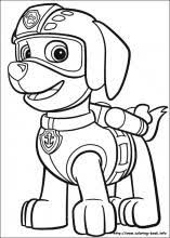 Paw Patrol Coloring Pages On Coloring Book