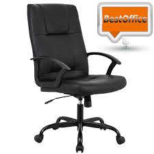 Amazon.com: Mid Back Office Chair PU Leather Desk Chair Task ... Worksmart Bonded Leather Office Chair Black Parma High Back Executive Cheap Blackbrown Wipe Woodstock Fniture Richmond Faux Desk Chairs Hunters Big Reuse Nadia Chesterfield Brisbane Devlin Lounges Skyline Luxury Chair Amazoncom Ofm Essentials Series Ergonomic Slope West Elm Australia Management Eames Replica Interior John Lewis Partners Warner At Tc Montana Ch0240
