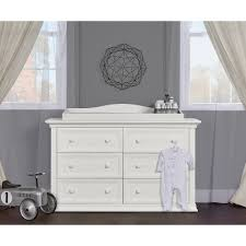 Davinci Kalani Dresser Gray by Evolur Sawyer Double Dresser In Dove Grey Walmart Com