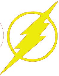Flash Lightning Bolt SVG Cut File From DesignFilesBoutique On Etsy Studio