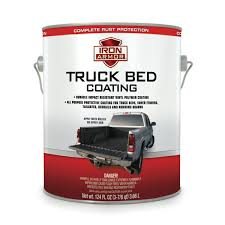 100 Rubber Truck Bed Liner 124 Fl Oz Iron Armor Black Coating