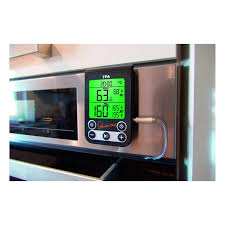 digitales grill braten ofenthermometer küchen chef tfa