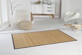 bambusteppich highq teppich bambus bambusmatte in rund oder