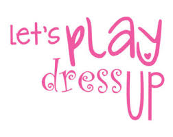 Play Dress Up Clipart