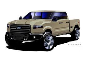 Ford Atlas Concept Design Sketch - Car Body Design