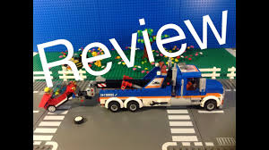 100 Lego City Tow Truck 60056 Review YouTube