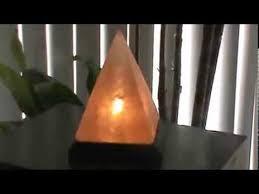 Himalayan Salt Lamp Pyramid by Himalayan Serenity Salt Lamp Pyramid Youtube