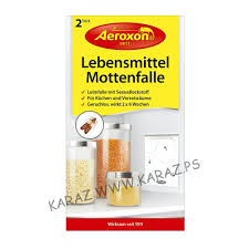 aeroxon food moth trap مصيدة لحشرات خزانة الاغذية x2 كرز سوبر ماركت karaz ps