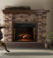 Decor Flame Infrared Electric Stove by Largest One Add Wood Frame Surround U0026 Bookcases 999 95 Quartz