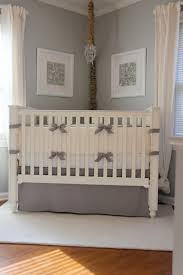 interior fair picture of grey baby nursery room decoration using