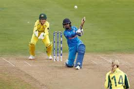 Indias Mithali Raj In Action During Her Record Breaking Innings Against Australia Bristol