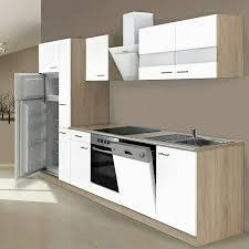 respekta küchenzeile kb310eswcgke breite 310 cm mit