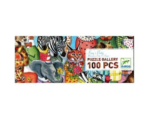 Djeco King's Party Puzzle - 100 Pieces