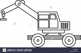 Crane Truck Icon Outline Stock Vector Art & Illustration, Vector ... Ambulance Truck Icon Vector Filled Flat Sign Solid Pictogram Mail Truck Icon Digital Green Royalty Free Image Gas On White Round Button Art Getty Images Food Set Stock Vector Illustration Of Pizza 60016471 Towing Delivery Png Clipart Download Free Images In Semi Illustrations Creative Market Moving Graphic Design Semi Icons And Downloads Blue Background Cliparts Vectors Sallite Business And Finance Pattern