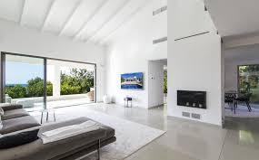 modern villa with pool and sea views in bonanova die sonne