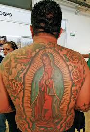 Virgin Mary Tattoos Pictures
