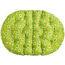 Outdoor Papasan Chair Cushion Cover by Double Papasan Outdoor Cushion Citrus Daisy Outdoor Decor