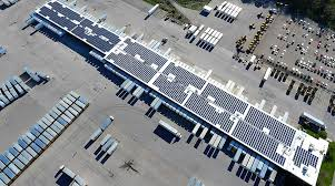 Estes Express Lines And Dynamic Energy Complete Rooftop Solar ...