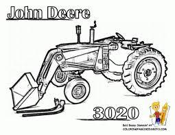 Coloriage Tracteur John Deere Télécharger Coloriages Dessin