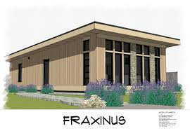 House Build Designs Pictures by No 31 Fraxinus Modern Shed Roof Style House Plan Free