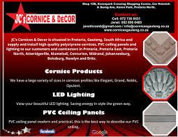 Polystyrene Ceiling Panels South Africa by Jc U0027s Cornices U0026 Decor International Ads