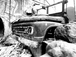 100 Junk Truck Black And White Photography Hood Steemit