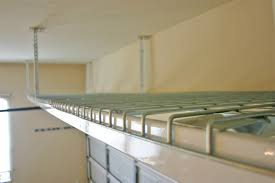 Hanging Garage Storage Diy Overhead Garage Storage Rack Plans DIY