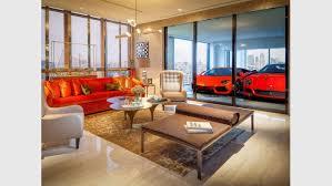 luxus apartments hier parkt ihr auto im wohnzimmer leben