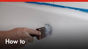 Bath Resurfacing Kits Diy by How To Paint A Bath Tub Diy At Bunnings Youtube