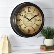 Bed Bath And Beyond Decorative Wall Clocks by Firstime 22 5 In Round Numeral Plaques Wall Clock 10023 The