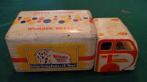 100 Wonder Bread Truck Antique Metal Toy 1734640153