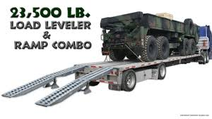 100 Truck Ramps For Sale Step Deck Trailer Ramp And Load Leveler Combo YouTube