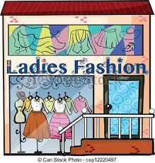 Retail Clothing Store Stock Illustrations 6385 Regarding Clipart