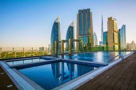 100 Water Hotel Dubai Worlds New Tallest Hotel Opens In The National
