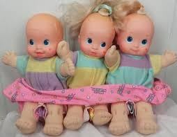 Magic Nursery Doll Triplets My 80s 90s Childhood Baby Dolls