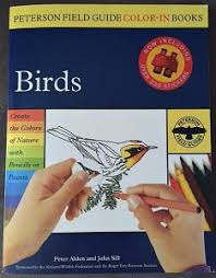 Peterson Field Guides Color In Books Birds
