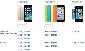 Bell iPhone 5s iPhone 5c Pricing Revealed for 2 Year Terms