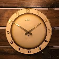 100 Mauthe Bauhaus Wall Clock Clock Co Germany