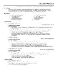 Production Supervisor Resume Sample Manufacturing Templates Template