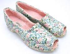 Oomphies Bedroom Slippers by Slippers 1940s Vintage Shoes For Women Ebay