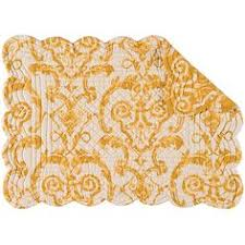 Fleur De Lis Reversible Patio Mats by Chilewich Gold Pressed Dahlia Placemat 10 Liked On Polyvore