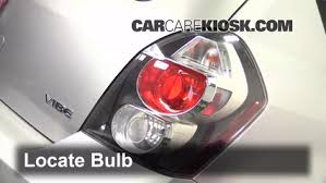 brake light change 2009 2010 pontiac vibe 2009 pontiac vibe 2 4l